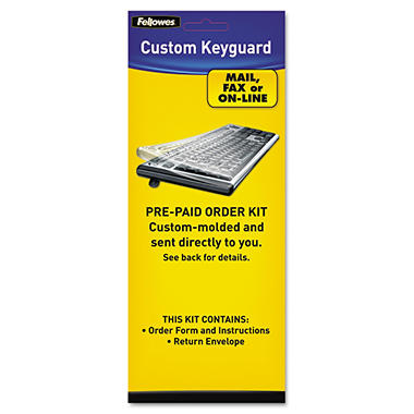 Fellowes - Keyboard Protection Kit, Custom Order -  Polyurethane