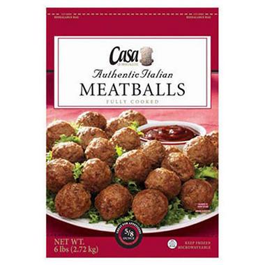 Casa Di Bertacchi® Meatballs - 96 oz.