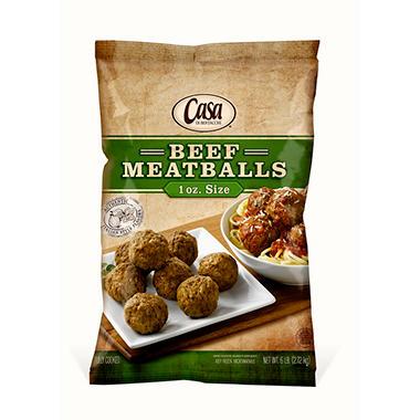 Casa Di Bertacchi Beef Meatballs (1 oz. ea., 6 lb.)