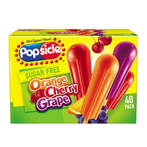 Popsicle Sugar-Free Ice Pops, Variety Pack (40 ct.)