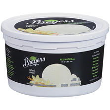 Breyers® Ice Cream Natural Vanilla - 1 gal. tub
