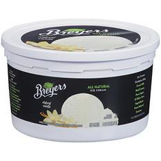 Breyers® Ice Cream Natural Vanilla - 1 gal. tub