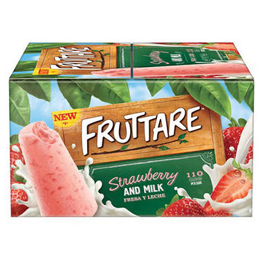 Fruttare Strawberry Milk Bar (1.9 lbs., 12 ct.)