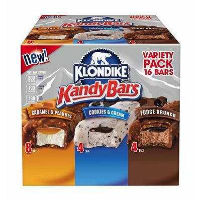 Klondike Kandy Ice Cream Bars, Variety Pack (16 ct.)