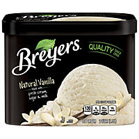 Breyers Natural Vanilla Ice Cream (2 qt.)