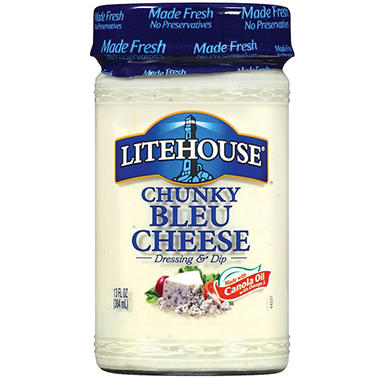 Litehouse Chunky Bleu Cheese Dressing - 2 pk.
