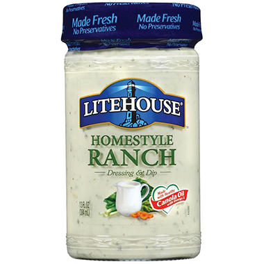 Litehouse Homestyle Ranch Dressing - 2 pk.