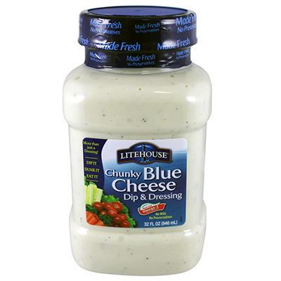 Litehouse Chunky Blue Cheese Dip & Dressing - 32 oz.