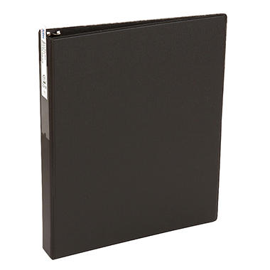Avery - Economy Reference Ring Binder with Label Holder