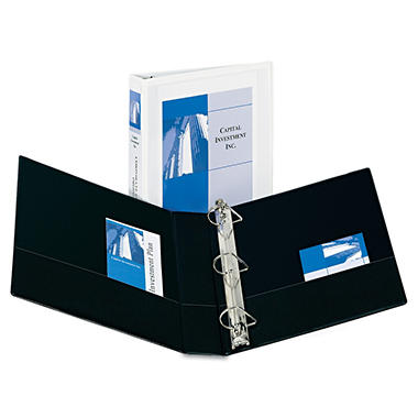 Avery - Durable Slant Ring Reference View Binder - Black