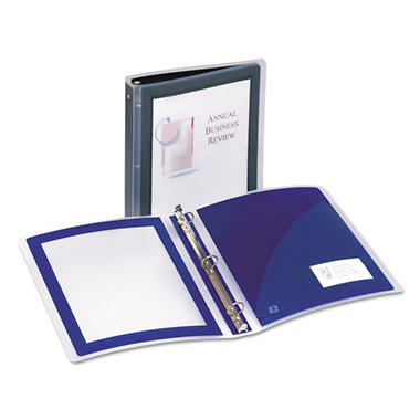 "Avery - Lightweight Flexi-View Presentation Binder 1"" - Various Colors"