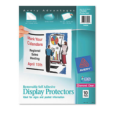 Avery Top-Load Display Sheet Protectors - Letter - 10 ct.