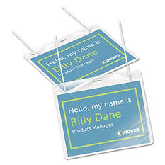 Avery Flexible Name Badge Holders - 100 ct.