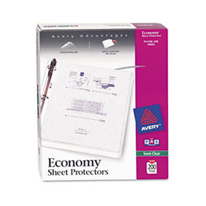 Avery - Economy Sheet Protectors, Semi-Clear - 200 Count