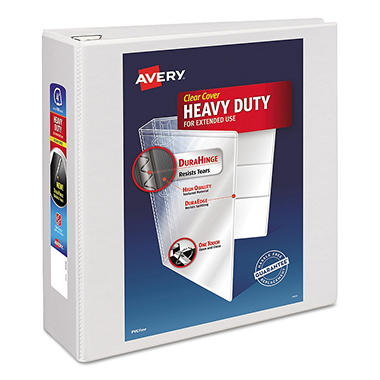 Avery - Heavy-Duty Ezd Reference View Binder - 4""
