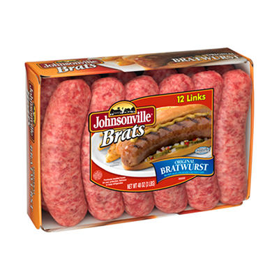Johnsonville Original Brats - 3 lbs.