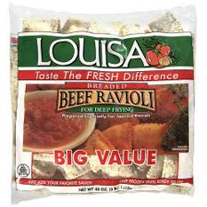 Louisa Breaded Beef Ravioli - 3 lb. bag