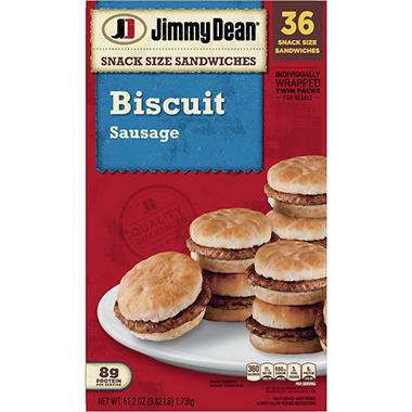 Jimmy Dean Snack Size Sausage Biscuits - 36 ct.
