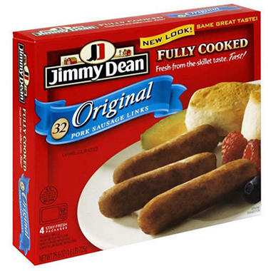 Jimmy Dean Premium Precooked Links - 32 ct.