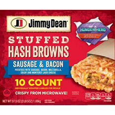 Jimmy Dean Stuffed Hashbrowns, Sausage and Bacon (10 ct.)