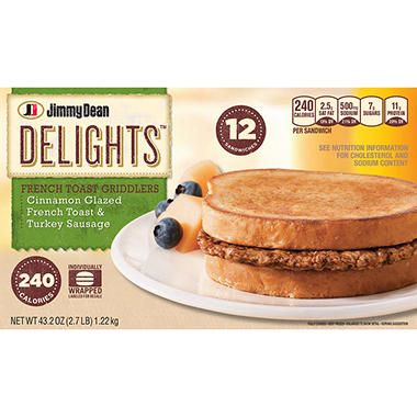 Jimmy Dean® Delights™ French Toast Griddlers - 12 ct.