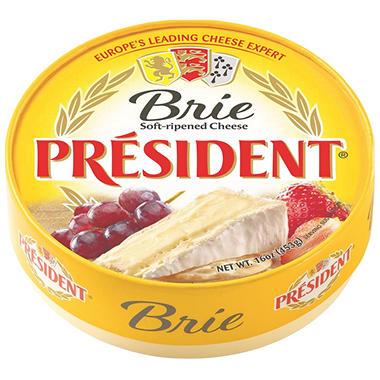 delete-President Brie (16 oz.)