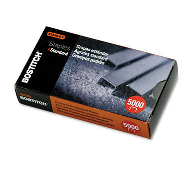 Bostitch - Standard Staples - 5,000 Pack