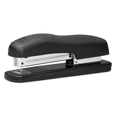 Bostich Contemporary Full Strip Stapler, 20-Sheet Capacity, Black