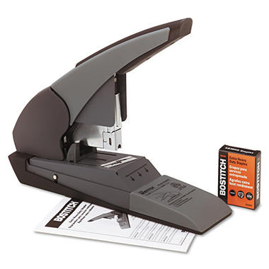 Stanley Bostitch - Heavy-Duty Stapler, 180-Sheet Capacity - Black/Beige
