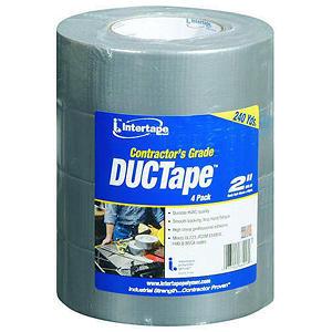 Intertape Contractor's Grade DUCTape - 60 yds. - 4 pk.