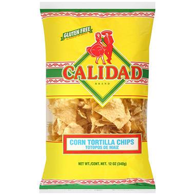 Calidad Tortilla Chips - 14oz
