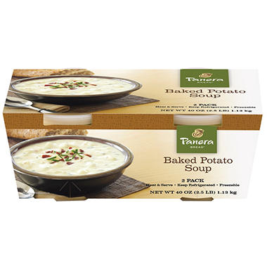 Panera Bread Baked Potato Soup - 40 oz.