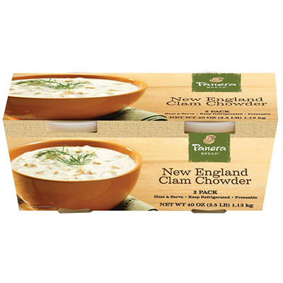Panera Bread New England Clam Chowder - 40 oz.