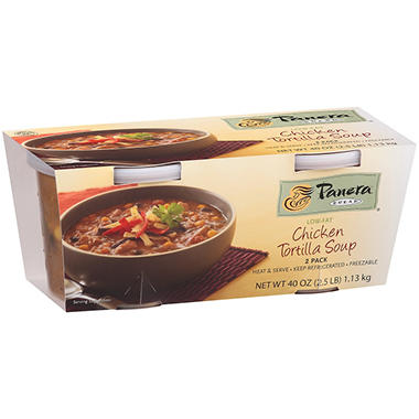 Panera Bread Chicken Tortilla Soup - 2 pk.