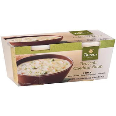 Panera Bread Broccoli Cheddar Soup - 20 oz. - 2 pk.
