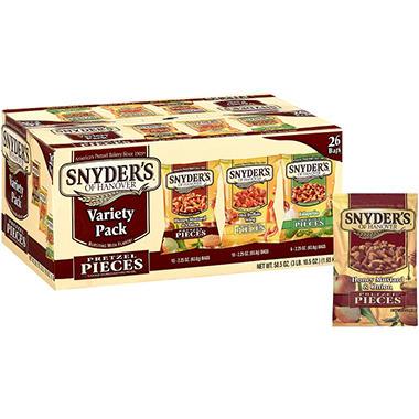 Snyder's of Hanover Pretzel Variety - 26/2.25oz