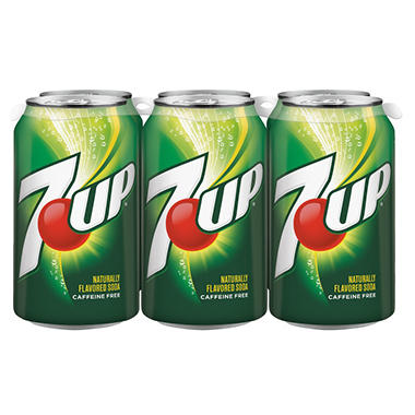 7-Up - 12 oz. cans - 6 pk. - 4 ct.