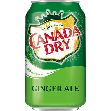 Canada Dry Ginger Ale - 12 oz. cans - 6 pk. - 4 ct.