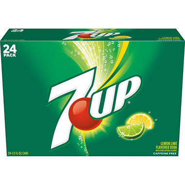 7-Up (12 oz. cans, 24 pk.)