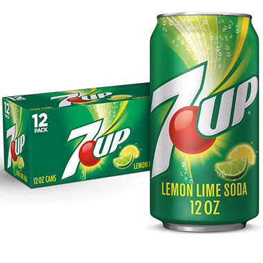 7-Up (12 oz. cans, 12 pk.)