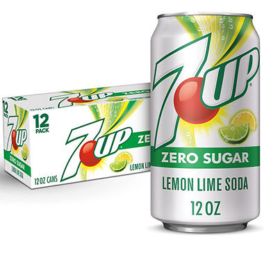 Diet 7-Up (12 oz. cans, 12 pk.)