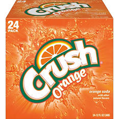 Crush Orange Soda (12 oz. can, 24 pk,)