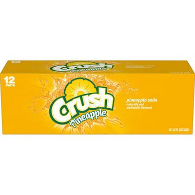 Crush Pineapple - 12 oz. - can - 12 pk.