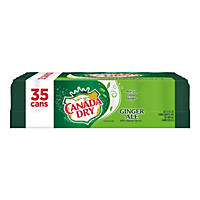 Canada Dry Ginger Ale (12 oz. cans, 35 pk.)