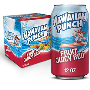 Hawaiian Punch (12 oz. cans, 24 pk.)