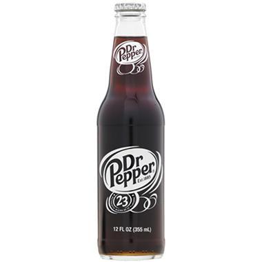 Dr. Pepper (12 oz. glass bottles, 24 pk.)