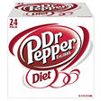 Diet Dr Pepper - 12 oz. cans - 24 pk.