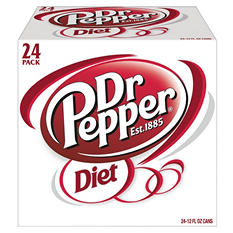 Diet Dr. Pepper (12 oz. cans, 24 pk.)