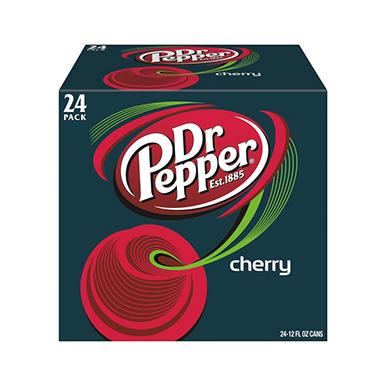 Dr. Pepper - Cherry - 12 oz. cans - 12 pk.