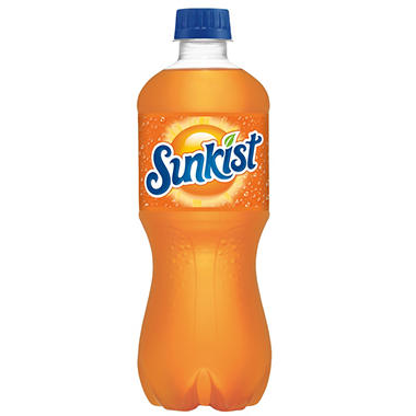 Sunkist Orange Soda (20 oz. bottles, 24 pk.)
